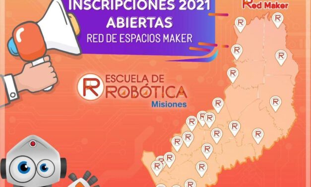 """La escuela de robótica invita a formar parte del """"Espacio Maker"""" en Iguazú"""