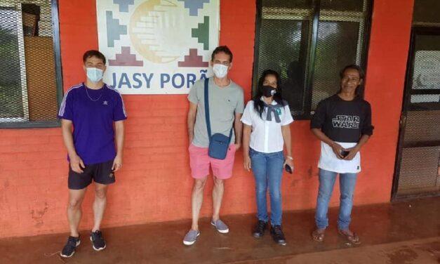 Con 2566 firmas llegó el pozo para la comunidad Yasy Porá