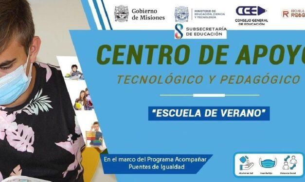 La semana que viene abrirá sus puertas el Centro de Apoyo pedagógico