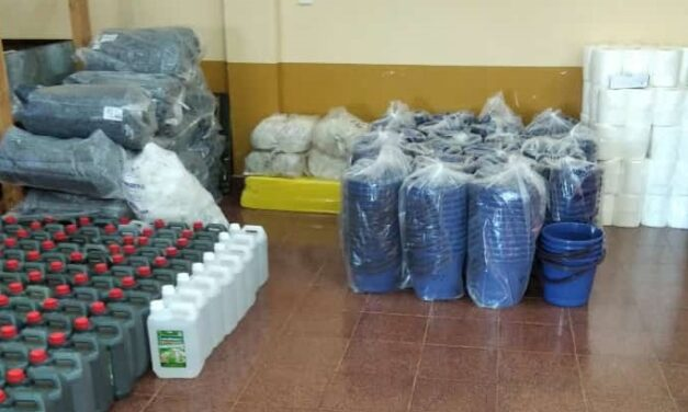 Vuelta a clases: Iguazú recibió insumos sanitarios para las escuelas