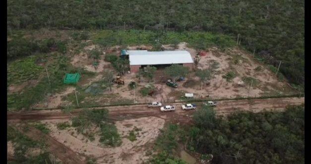 Paraguay cierra base logística para narcotráfico aéreo en Chaco