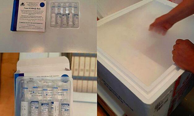 Llegaron hoy  unas 10.100  vacunas Sputnik V a Misiones