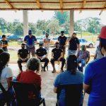 La Policía se reunió con autoridades Provinciales, municipales e integrantes aldeas aborígenes
