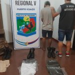 Detuvieron a un joven por robo y comercialización de indumentaria militar