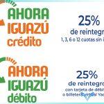Hoy inicia el programa «Ahora Iguazú»: Se puede comprar todos los días Jueves, Viernes y Sábado.
