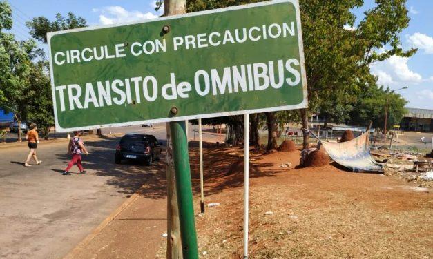 Falleció un niño mbya atropellado por un colectivo
