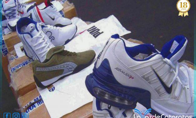 """El millonario negocio de las zapatillas """"importadas """""""