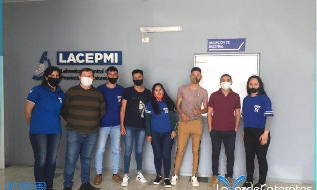 Futuros egresados de la EPET N°51 visitaron el Laboratorio Central de Misiones en Posadas