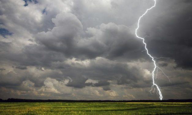 Rige advertencia Amarilla por tormentas hasta el viernes