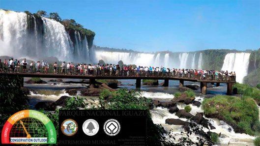 Parque Nacional Iguazu, Patrimonio Mundial evaluado en 2020 como preocupacion significativa por la IUCN- imagen Carlos D. Casuscelli